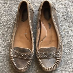 Fossil leather flats sz 8.5